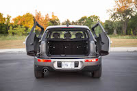 2016 MINI Cooper Clubman trunk cargo space volume