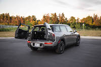 2016 MINI Cooper Clubman trunk doors open