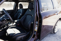 2016 MINI Cooper S Clubman black leather seats