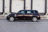 2016 MINI Cooper S Clubman burgundy paint