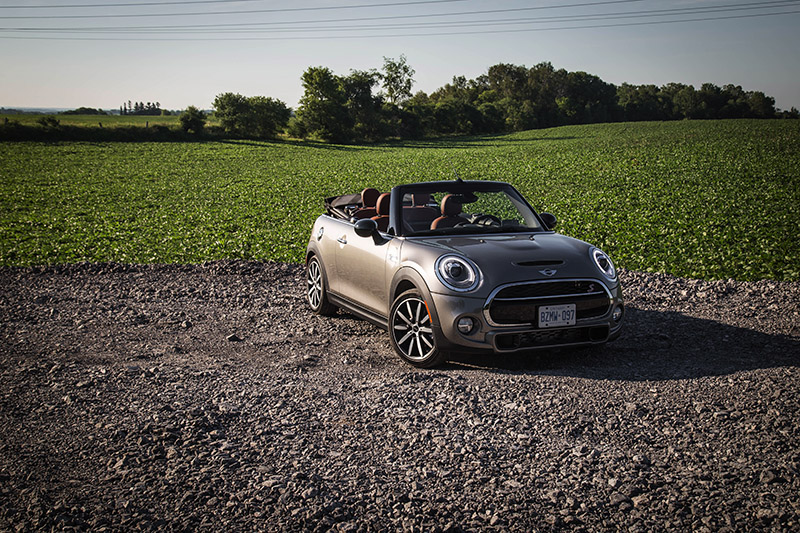 2016 MINI Cooper S Convertible canada review