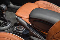 2016 MINI Cooper S Convertible center armrest