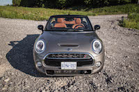 2016 MINI Cooper S Convertible front view