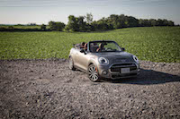 2016 MINI Cooper S Convertible roof down