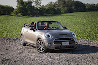 2016 MINI Cooper S Convertible melting silver