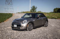 2016 MINI Cooper S Convertible melting silver paint canada