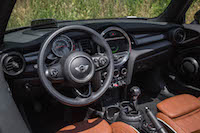 2016 MINI Cooper S Convertible interior