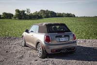 2016 MINI Cooper S Convertible roof up