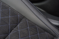 2016 Nissan Maxima SR quilted alcantara leather seats