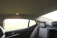 2016 Nissan Maxima SR roofline headroom