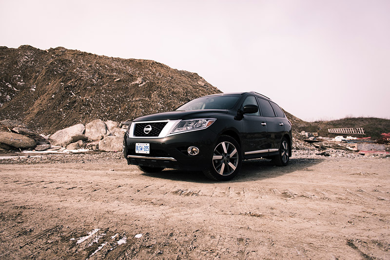 2016 Nissan Pathfinder Platinum Canada review