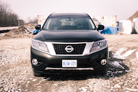 2016 Nissan Pathfinder Platinum java metallic