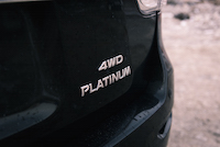 2016 Nissan Pathfinder Platinum badge