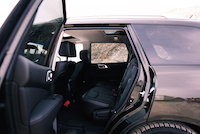 2016 Nissan Pathfinder Platinum rear seats