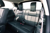 2016 Nissan Pathfinder Platinum third row seats