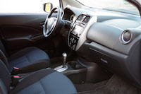 nissan versa note dashboard