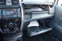 nissan versa note glovebox