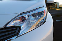 nissan versa note head lights