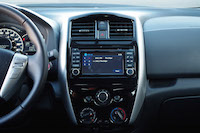 2016 nissan versa note touchscreen