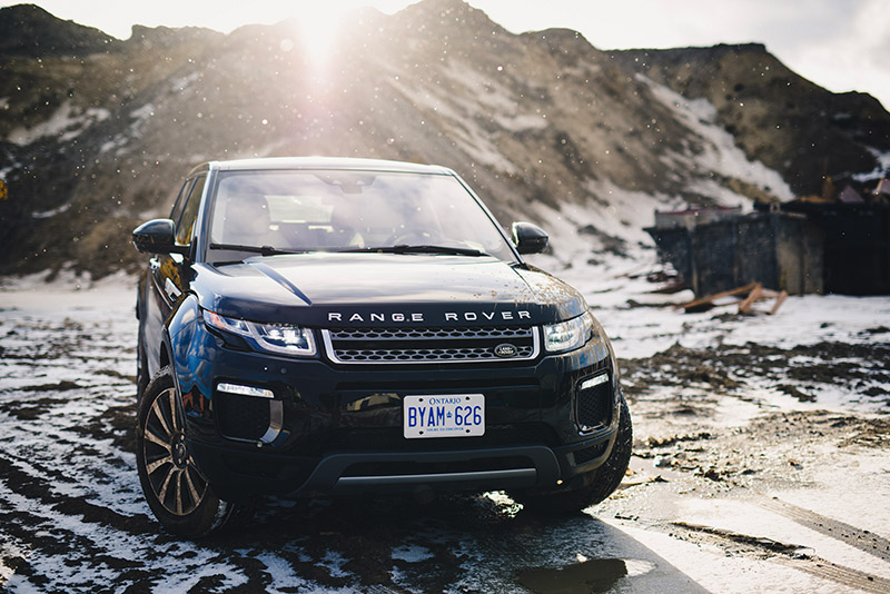 2016 range rover evoque canada review