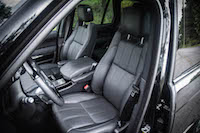 2016 Range Rover HSE Td6 front seats