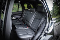 2016 Range Rover HSE Td6 rear seats