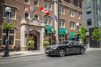 Rolls-Royce Wraith windsor arms hotel
