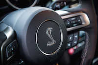 2016 Ford Shelby GT350 wheel badge