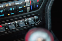 2016 Ford Shelby GT350 exhaust button