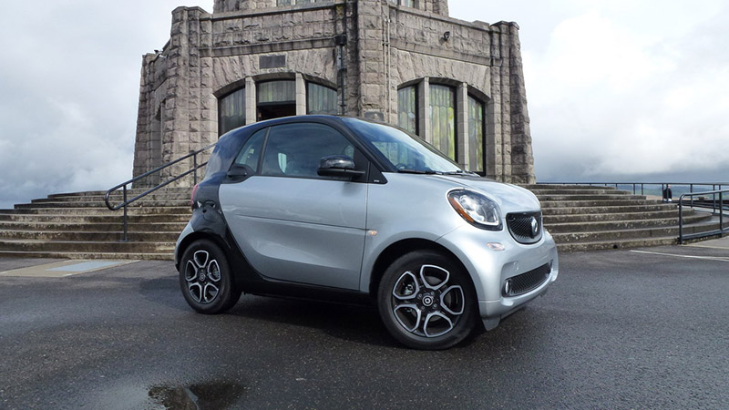 2016 smart fortwo silver
