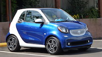 2016 smart fortwo blue