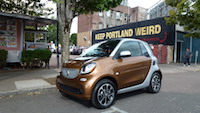 2016 smart fortwo brown