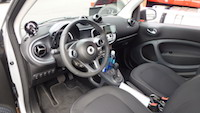 new smart fortwo interior
