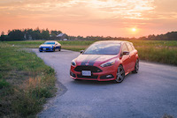 2015 ford focus st red