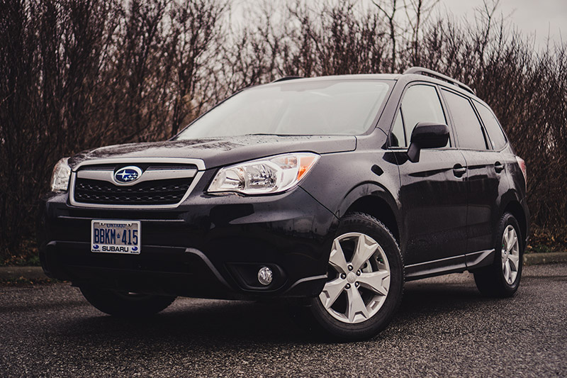 subaru forester 2016 black