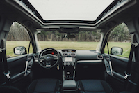 2016 forester interior
