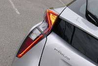 2016 Toyota Prius rear taillights