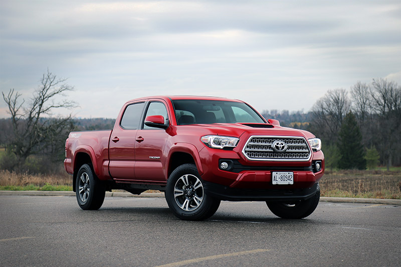 new toyota tacoma canada review