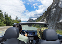 2016 褔士 Volkswagen Beetle Denim Convertible vancouver driving mountains