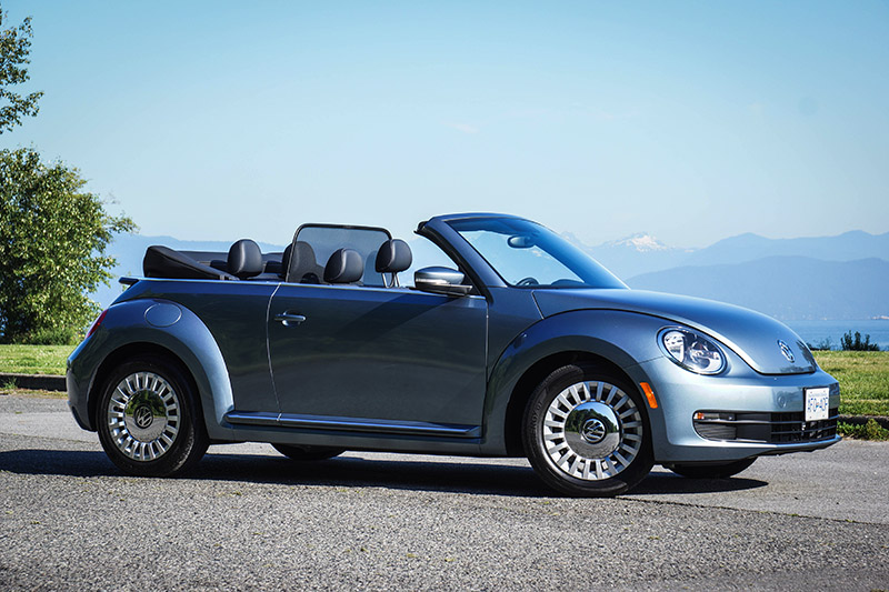 2016 褔士 Volkswagen Beetle Denim Convertible chinese review