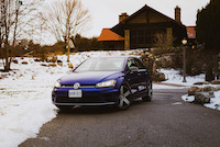 golf r lapiz blue