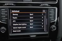 golf r individual mode