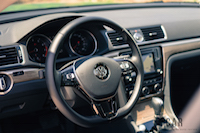2016 Volkswagen Passat interior steering wheel