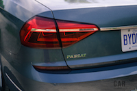 2016 Volkswagen Passat rear lights