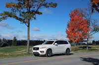 volvo xc90 new white