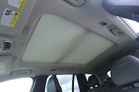 xc90 sunroof visor closed