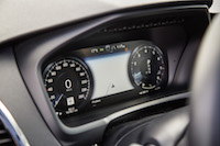 Volvo XC90 R-Design digital gauges
