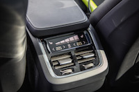 Volvo XC90 R-Design rear seat a/c hvac controls