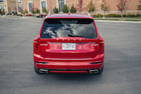 Volvo XC90 R-Design rear view polestar