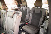 Volvo XC90 R-Design third row seats rear